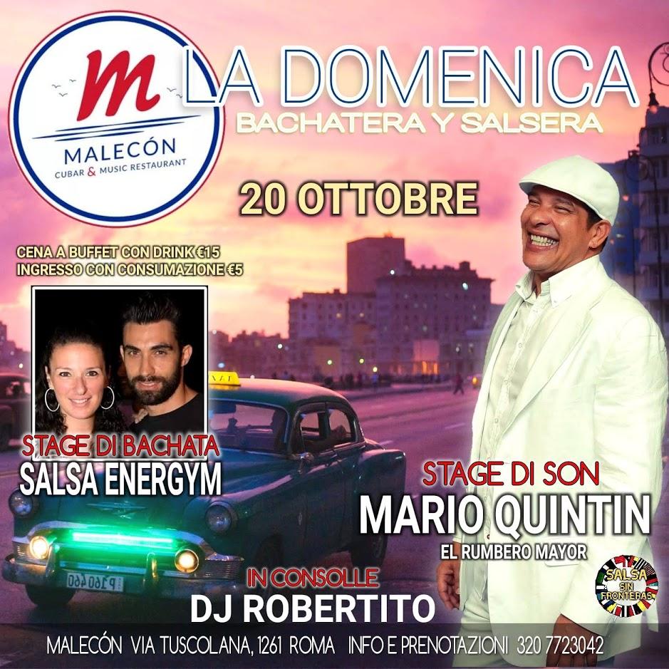 Stage di Son 20 Ottobre 2019 Mario Quintin