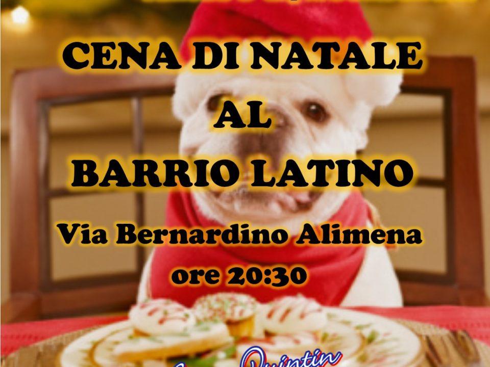 Cena di natale 2019 barrio latino