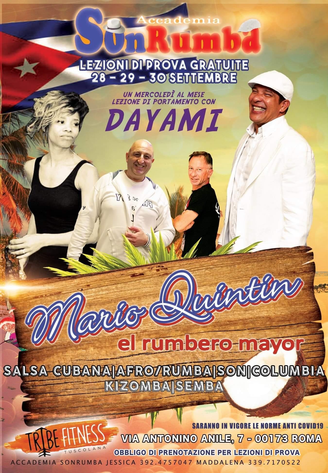 marioquintin corsi salsa afro rumba son columbia kizomba semba roma